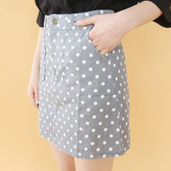 Dot Pocket Skirt