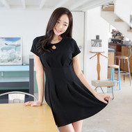 Hall Pin Tuck Dress