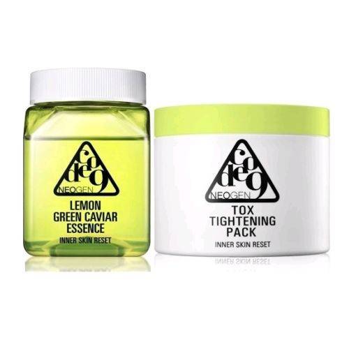 NEOGEN Lemon Green Caviar Essence and Tox Tightening Pack