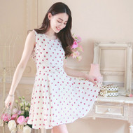 Flower Butterfly Knot Dress