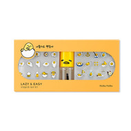 Holika Holika Gudetama LAZY & EASY Stiquick Nail Kit Sticker