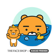 THE FACE SHOP Kakao Friends CC Ultra Moist Cushion