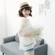 Openwork Lace Shirt