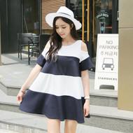 Bulletin Shoulder Dress