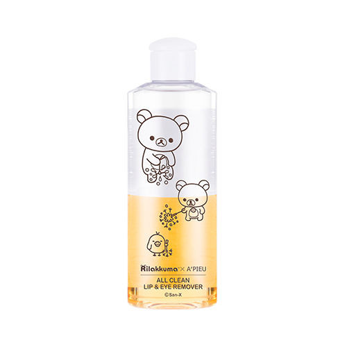 A'PIEU All Clean Lip & Eye Remover Calendula Rilakkuma Edition