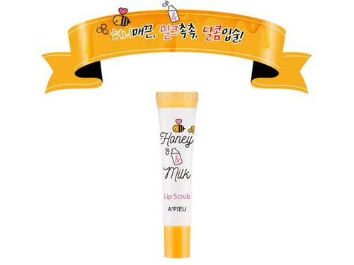 A'PIEU Honey & Milk Lip Scrub