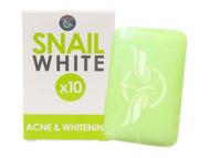 Gluta Glutathione Soap Snail White Acne & Whitening Spots Damage Skin