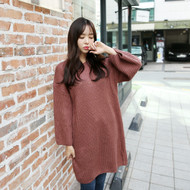 Casual Loose Knit Dress