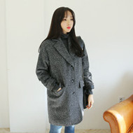 Short Tweed Coat