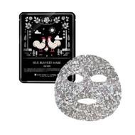 A'PIEU Cocorico Silk Blanket Mask Silver
