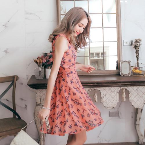 Aristocratic Princess Sleeveless Dress