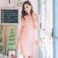 Strapless Knit Dress