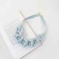 Funky Denim Necklace