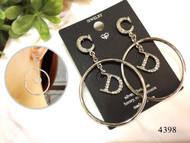 CD Loop Earrings