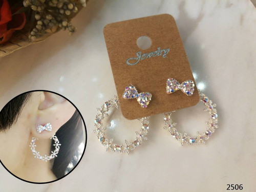 Bling Bling Small Loop Earring