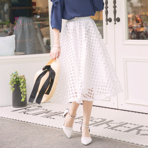 Hollow Umbrella Pendulum Skirt