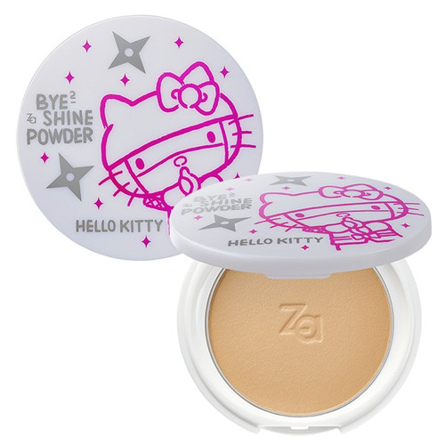 Za Bye Bye Shine Pressed Foundation Powder Hello Kitty Edition