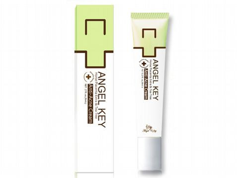 Angel key Horse Placenta Extra & Tea Tree Anti-Acne Cream