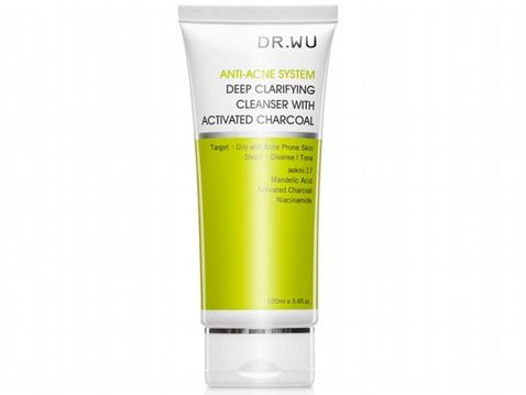 DR.WU Deep Clarifying Cleanser With Activated Charcoal