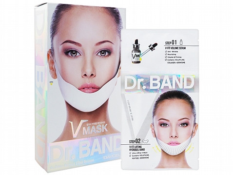 Dr. BAND 2 Step Lift Serum + Ultra Lifting V Mask Sheet