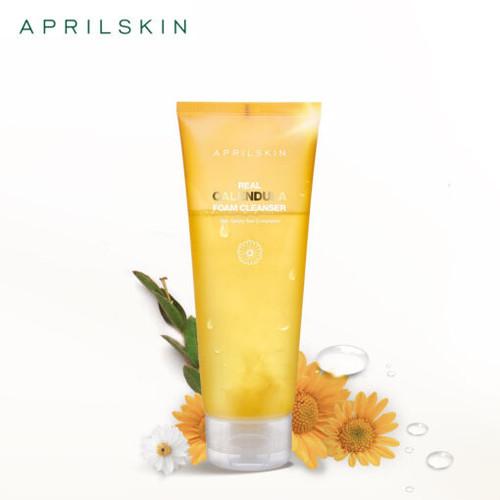 APRIL SKIN Real Calendula Foam Cleanser