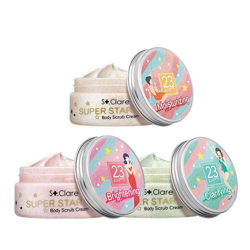 St. Clare Super Star Body Scrub Cream