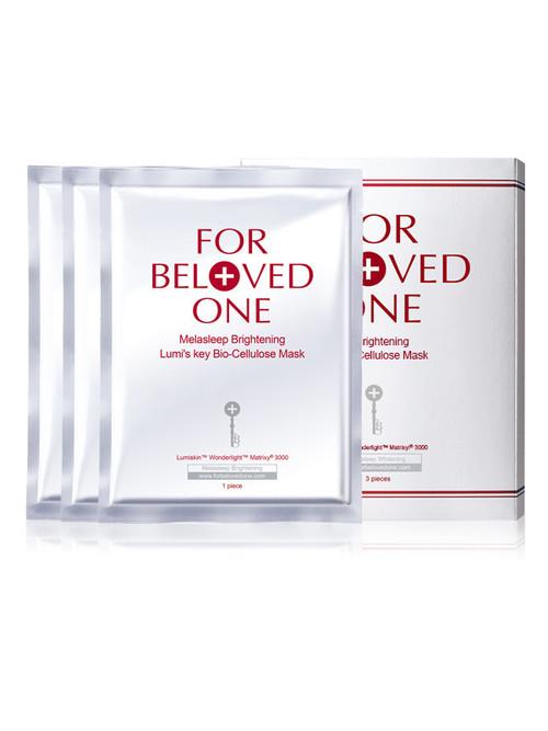 For Beloved One Melasleep Brightening Lumi's Key Bio-Cellulose Mask