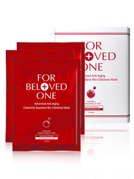For Beloved One Advanced Anti-Aging Ceramide Squalane Bio-Cellulose Mask