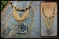 Gold Chain with Elephant pedant Necklace
