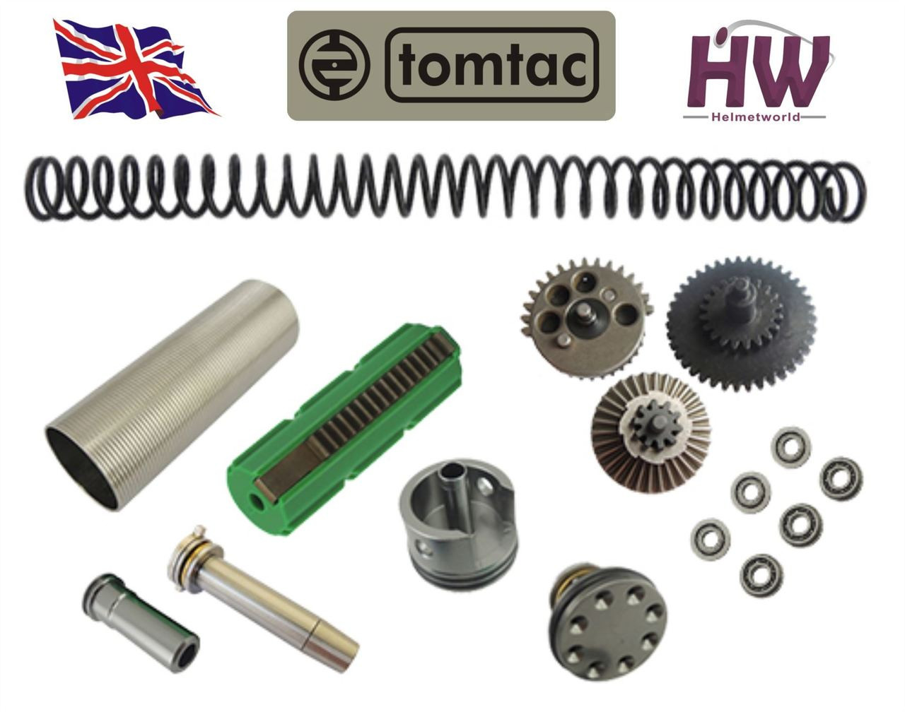 AIRSOFT LONEX AEG GEARBOX UPGRADE SPRING SET VER 2 3 UK DELIVERY