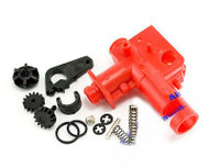 AIRSOFT HOPUP CHAMBER M4 SCAR V2 HOP UP UK RED PLASTIC