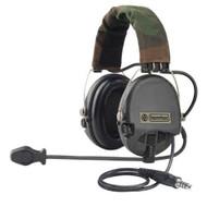 Tomtac Sordin Headset Mic Boom Radio Msa Design / Black