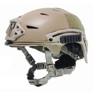 AIRSOFT BUMP TYPE HELMET TAN SAND DE ABS MARSOC USSF OPS CORE
