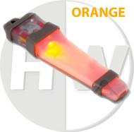 AIRSOFT V-LITE LED SAFETY LIGHT ORANGE HELMET V LITE E LITE E-LITE TAN
