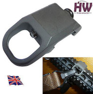 AIRSOFT ACM FSA STYLE RAIL SLING ATTACHMENT POINT MOUNT STEEL 20mm UK