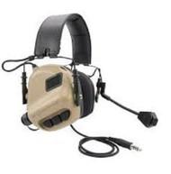 AIRSOFT TOMTAC SORDIN EARMOR HEADSET MIC BOOM RADIO MSA DESIGN  Tan DE