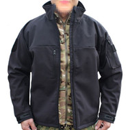 AIRSOFT EMERSON RANGERS RELOAD SOFTSHELL OPERATORS JACKET BLACK LARGE UK