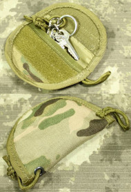 AIRSOFT MULTICAM MC MTP MOLLE KEY SILENCER POUCH  POCKET UK CORDURA