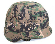 AIRSOFT M88 TACTICAL COVER DIGI WOODLAND HELMET PAINTBALL UK MTP