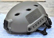 AIRSOFT GREEN FG CORE OPS TACTICAL HELMET JUMP UK FAST DELIVERY RAIL