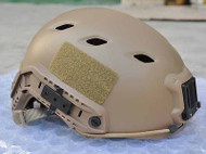 AIRSOFT TAN SAND DE SWAT CORE OPS TACTICAL HELMET JUMP UK FAST DELIVERY RAIL
