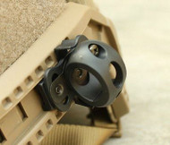 AIRSOFT AF OPS CORE BLACK SWAT HELMET 20mm TORCH MOUNT UK Crye Airframe RAIL