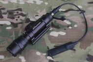 AIRSOFT CREE PRESSURE PAD M620U WEAPON LIGHT SUREFIRE ULTRA SCOUT STYLE BLACK UK