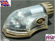 AIRSOFT LIGHT FLASHLIGHT IR RED HELMET MANTA STROBE TAN SAND DE UK