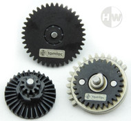 AIRSOFT HIGH TORQUE 32:1 GEAR SET M4 AK47 V2 V3 HIGH DENSITY STEEL gearbox cogs