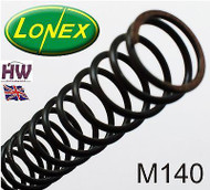 M140 AIRSOFT SPRING LONEX  FAST UK DELIVERY ULTIMATE QUALITY STEEL ASG NONLINEAR