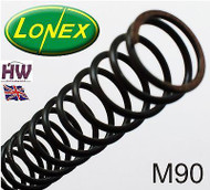 M90 AIRSOFT SPRING LONEX  FAST UK DELIVERY ULTIMATE QUALITY STEEL ASG NONLINEAR