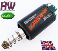 AIRSOFT AEG HIGH SPEED DURABLE STANDARD MOTOR LONEX A4 ASG LONG M170 M120 M4 V2