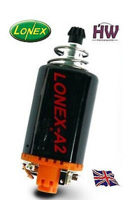 AIRSOFT AEG MOTOR HIGH TORQUE LONEX A2 ORANGE ASG MEDIUM M170 M160 M140 M120 V2
