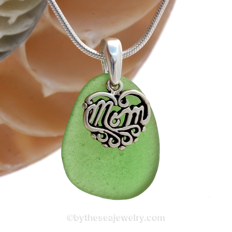 green-sea-glass-necklace-with-mom-charm-in-silver.jpg